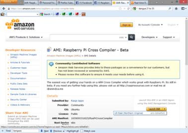 HowTo – Use the RasPi Cross Compiler AMI – Anindya Roy